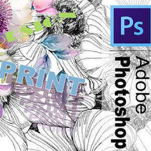 Принты и заливки в Adobe photoshop