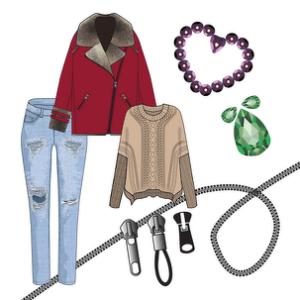 Курс: Adobe Illustrator для fashion в дизайне одежды