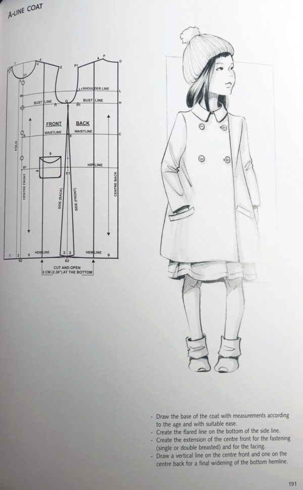 Fashion Patternmaking Techniques for Children's Clothing: Dresses, Shirts, Bodysuits, Trousers, Jackets and Coats fvdesign.org