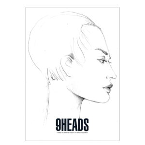 9 Heads: A Guide to Drawing Fashion