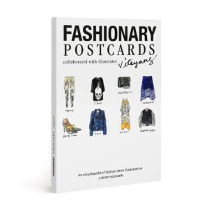 Fashionary postcards
