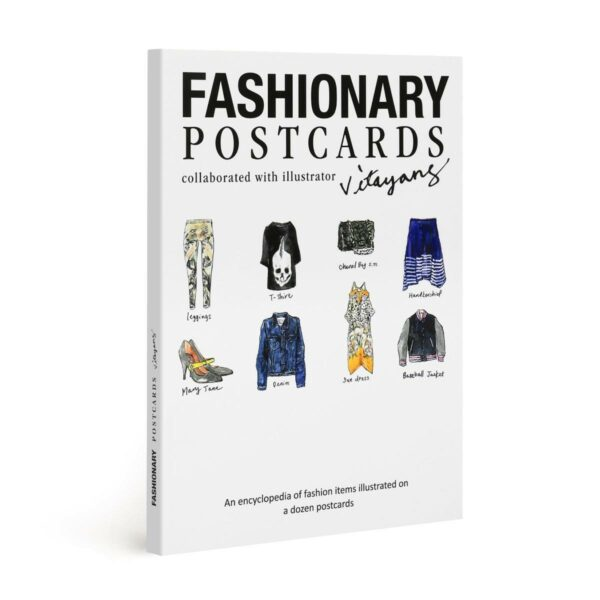 Fashionary postcards