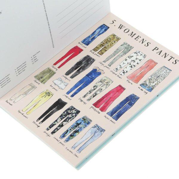 Fashionary postcards fvdesign.org