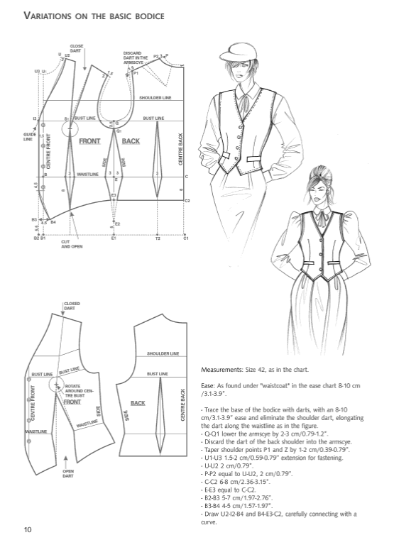 Fashion Patternmaking Techniques [ Vol. 3 ]: How to Make Jackets, Coats and Cloaks for Women and Men fvdesign.org
