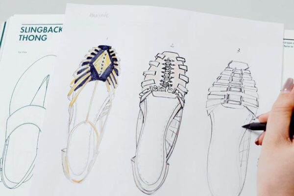 Shoe Design by Fashionary fvdesign.org