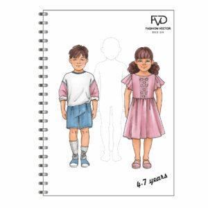 Скетчбук A5 дети 4-7 лет fvdesign.org