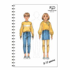 Скетчбук A5 дети 8-12 лет fvdesign.org